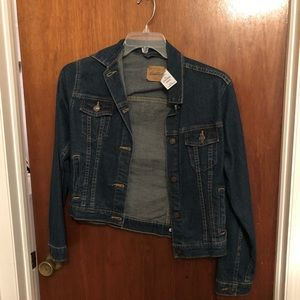 Never worn denim jacket
